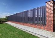 Строительство и установка забора,  ворот в Орше