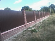Предлагаем забор железобетонный,  Тротуарную плитку,  Бордюры и др